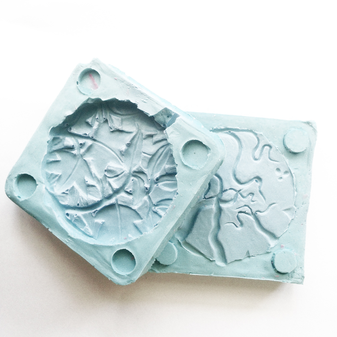 Silicon mould for creating wax reproductions